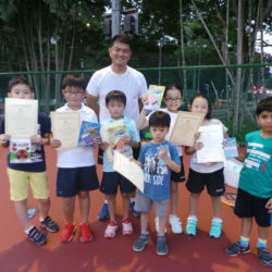 Super Fun Kids Tennis Camp
